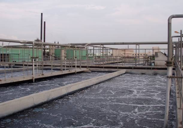 High salt wastewater treatment - bluslot
