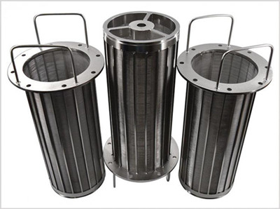 Johnson wedge wire screen basket filter factory