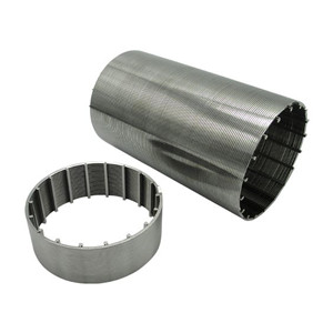Johnson wedge wire screen for filtration and separation
