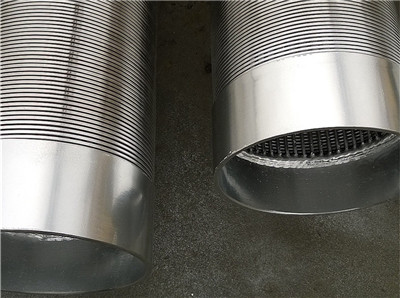 Johnson wedge wire water well screen suppliers